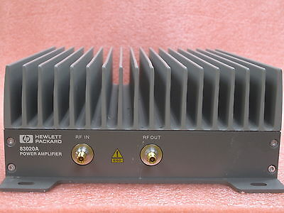 HP 83020A Microwave System Amplifier 2-26.5GHz