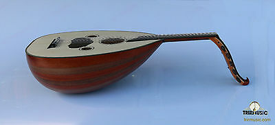 Turkish Quality Mahogany And Walnut String Instrument Oud Ud AO-104M