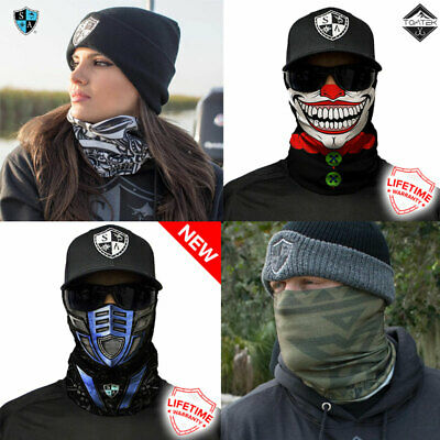 Salt Armour Face Shield ™ Bandana Durag Neck Scarf Headwear UV Mask Fishing