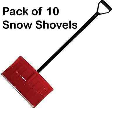 10 x Premium Quality Heavy Duty Snow Shovels - Latest High Strength Design