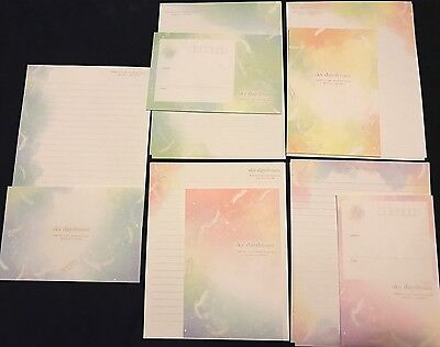 Sky Daydream Letter Set - 5 Envelopes & 10 Writing Paper