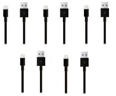 iProtect 5x Apple Lightning USB Datenkabel Ladekabel - Schwarz