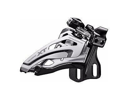 Shimano (8025) XT 11 Spd Double Front Derailleur Down Pull, Top Swing E-Type New