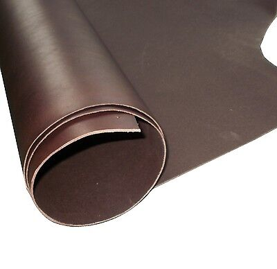 2Mm Thick A Grade Brown Full Grain Veg Tan Cowhide Tooling Craft Leather
