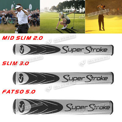NEW Golf Club Super Stroke MIDNIGHT putter grip 3 COLORS AND SIZES 2.0 3.0 5.0