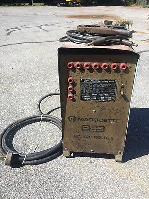 Marquette Corp. Model # 10-119 235 AC Arc Welder 208/230v 1 Phase M4