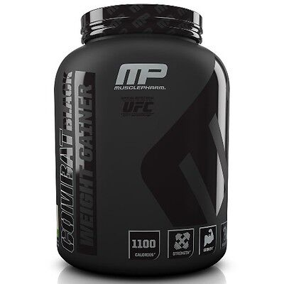 Musclepharm Combat Gainer Black 55g Protein 2.27kg / 5lb