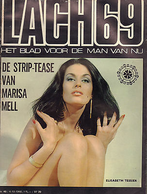 MAGAZINE DE LACH 1968 nr. 40 - PEGGY MARCH/ELISABETH TESSIER/ANNE LISE