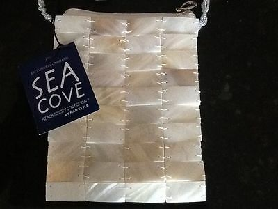 Elegant Mother of Pearl, Evening/Formal/Bridal/Wedding Bag/Purse by Sea Cove