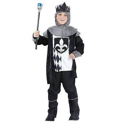 Chess King (Small),Boys Medieval Knight,Childs Fancy Dress Costume,Book Week #AT