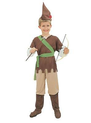 Robin Hood (Small),Boys,Unisex,Childs Fancy Dress Costume, Kids Book Week #AT