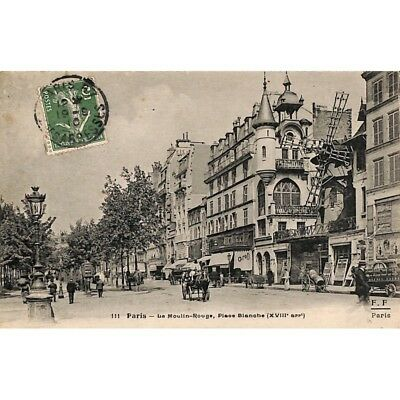 [75] Paris - Le Moulin-Rouge, Place Blanche.