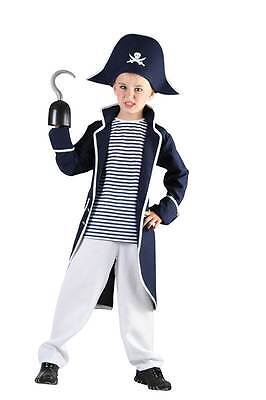 Pirate Captain Hook, Boys Fancy Dress Costume, Kids Book Week, Small #at