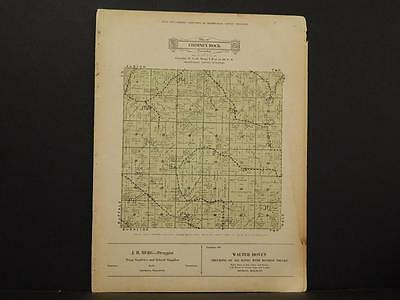 Wisconsin, Trempealeau County Map Caledonia Township 1930 Y8#16