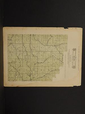 Wisconsin, Trempealeau County Map Southeast Arcadia Township 1930 Y8#19