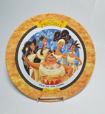 Vintage 1997 McDonalds Disney Hercules The Muses Plate Collectible New Old Stock
