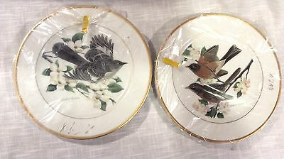John A. Ruthven- Hutschenreuther Germany Collector Plates - Robin & Mockingbird