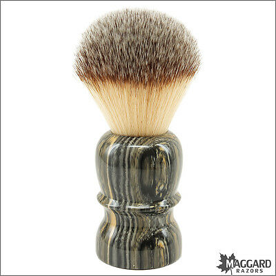 "Shaving Brush - Maggard Razors - ""Granite"" 26mm Synthetic Brush"