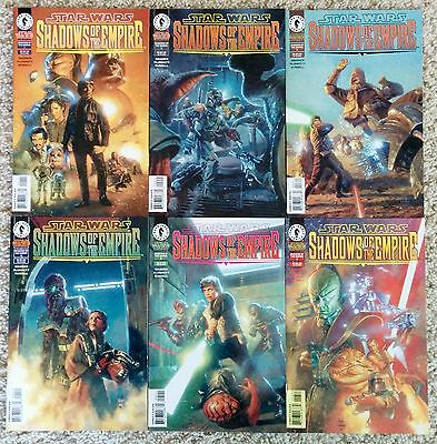 Star Wars: Shadows of the Empire #1-6. Complete Set. NM-.