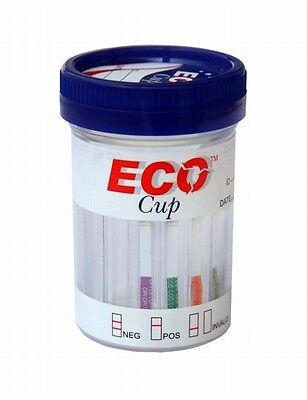 (100) 5 Panel Drug Test Cups w/ Gloves CLIA FDA Approved ECO b
