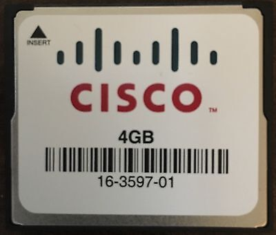 Cisco 4GB CompactFlash CF Memory Card (16-3597-01)