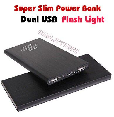20000mAh Power Bank Charger Dual USB Portable External Battery Powerbank