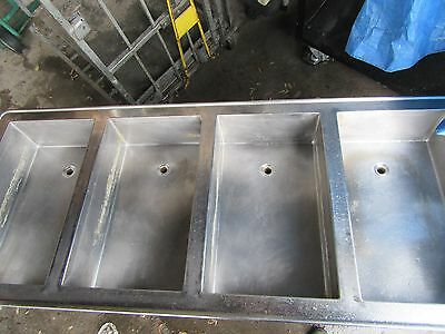 4 Well Drop In Steam Table Stainless Steel