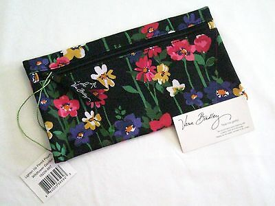 Vera Bradley WILDFLOWER GARDEN Pencil Pouch PEN CASE 4 BACKPACK Tote SCHOOL