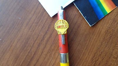 Vintage 1950's Shell Oil Co Service Station Advertising Pen~El Paso~Normal ILL.