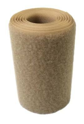 Cinta cierre coser 100 mm Tan Beige pelo loop 1m. - Loop Tan sewing
