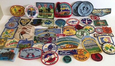 Boy Scout, Cub Scout & Girl Scout Patches (50+ Patches)