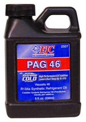 FJC INC. 8 Oz. PAG Oil 46 with Extreme Cold FJ2507
