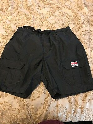 Vintage 90s New Marlboro Swim Trunks Sz L