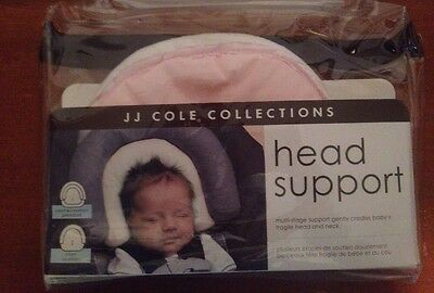JJ Cole Head Support Baby Preemie/Newborn (only) Pink/White New
