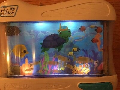 Disney Baby Einstein Crib Soother With Lights Motion,and music Aquarium Theme