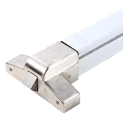 Emergency Single Leaf Stainless Steel Rim Panic Door Touch Push Bar Exit Device.