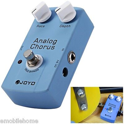 JOYO JF - 37 True Bypass Design Electric Guitar Analog Chorus Effect Pedal blue