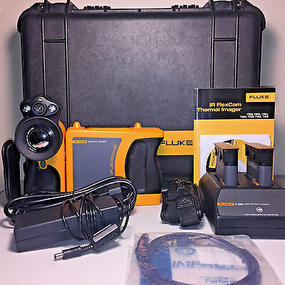 FLUKE Ti45 IR FlexCam Thermal Camera w/ IR Fusion  - Complete Kit!