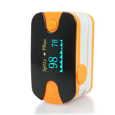 New Blood Oxygen Pulse Finger OLED health Oximeter SPO2 Heart Rate Monitor AU