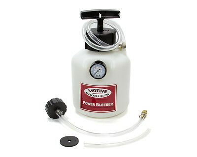 MOTIVE PRODUCTS European Style Power Bleeder Brake Bleeder Kit P/N 100