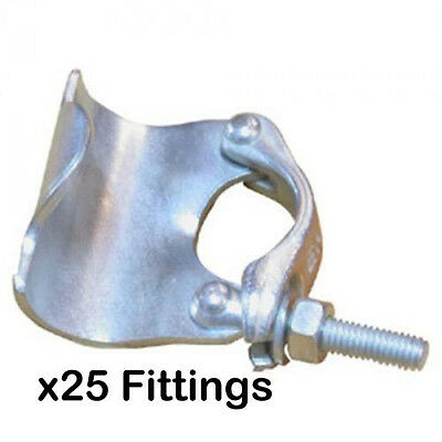 Pack of 25 New Scaffold Single Fittings - DIY - SelfBuild - Great Value