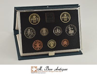1989 Great Britain Royal Mint Proof Coin Set *0111