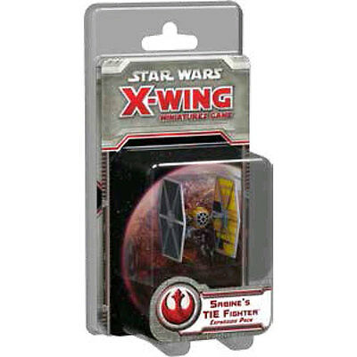 Star Wars - X-Wing Miniatures Game - Sabine's TIE Fighter Expansion Pack NEW
