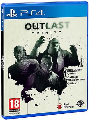 Outlast Trinity Ps4 Game - Brand New And Sealed
