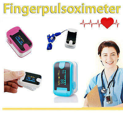 OLED Fingertip Pulse Oximeter With Audio Alarm Pulse Wave Sound Spo2 Monitor AU