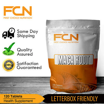 Maca Root Extract 5000mg x 120 Tablets / High Strength | Stamina | Energy | Mood
