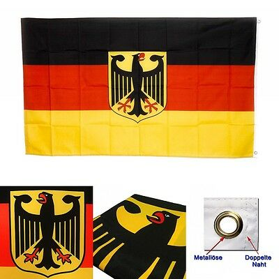 3x5FT Old Germany Flag with Eagle German Banner Deutschland New Indoor/Outdoor