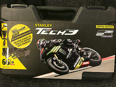 Stanley Tech 3 Socket Set 66 Piece 1/4in Drive - Limited Edition - FREE DELIVERY