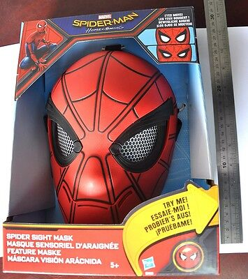 Plastic Red Gift Marvel Spider-Man Homecoming Spider Sight Mask