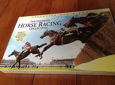 Brand New The Ultimate Horse Racing Collection DVD and Book